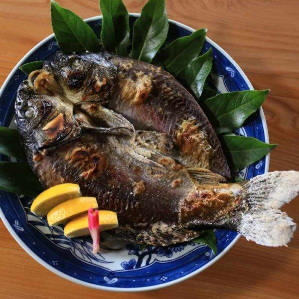 画像1: 鯉の塩焼き (1)